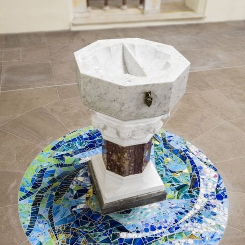 baptismal font parish church